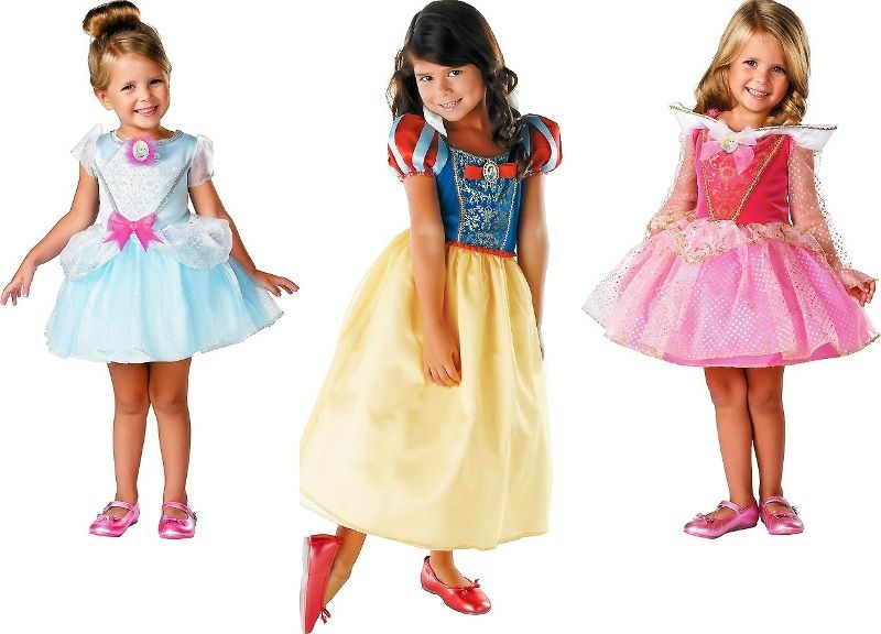 костюм маленькой принцессы детский