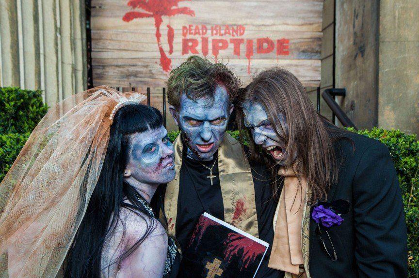 свадьба зомби апокалипсис