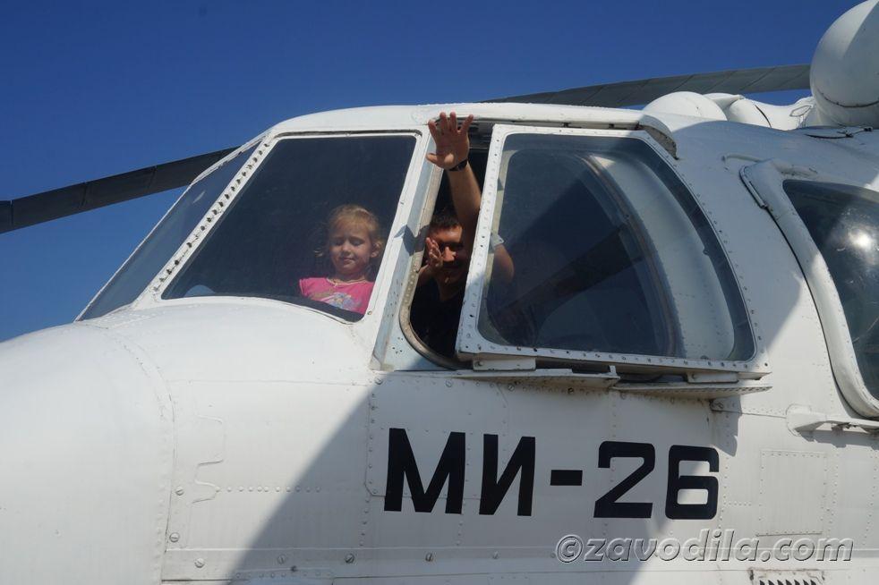 фото кабина вертолета ми-26