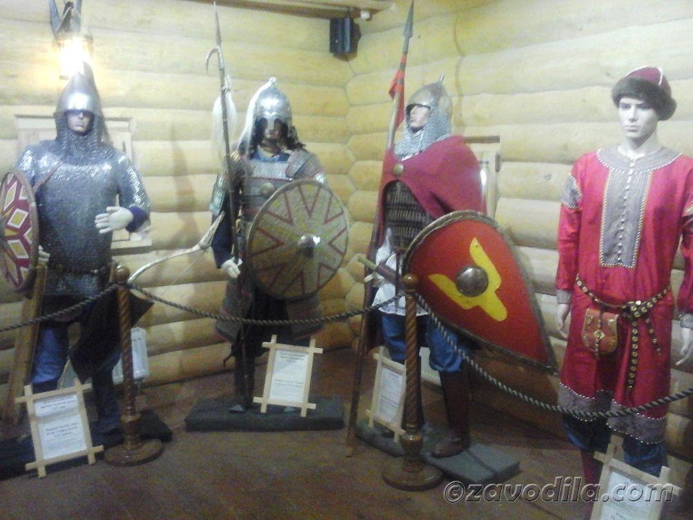 древняя одежда славян, киевлян