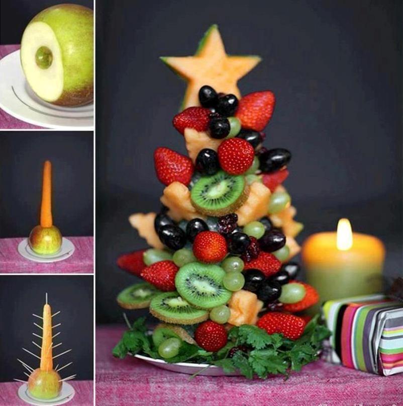 фруктово-ягодная елка