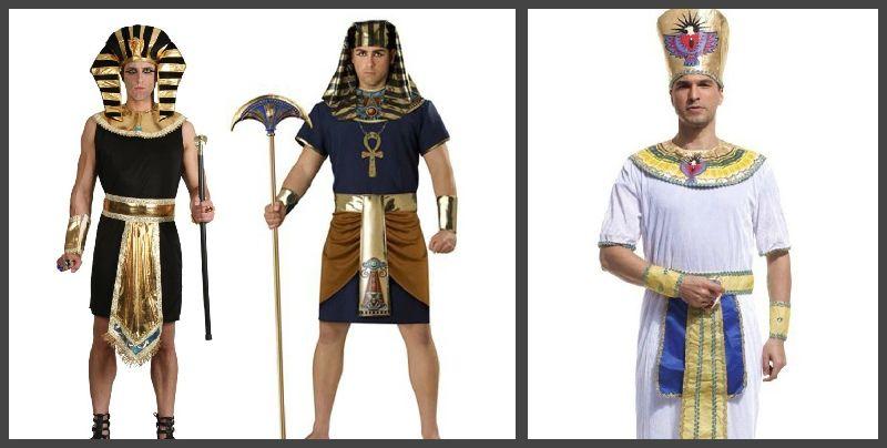 костюмы и образы фараонов, египетских богов