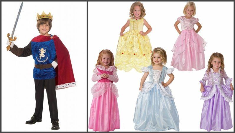наряды принцессы и принц