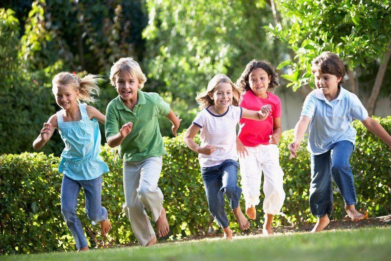 Игры и конкурсы на природе для детей