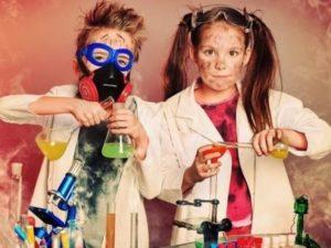 научная вечеринка для детей: опыты и эксперименты