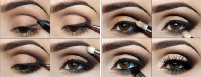 восточный макияж глаза