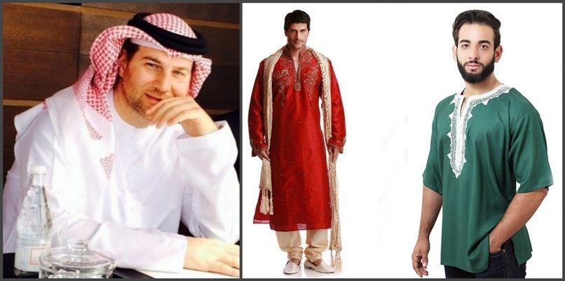 восточные мужские наряды, костюмы и образы