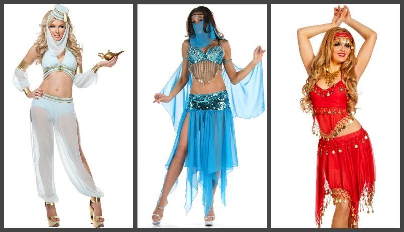 восточные женские костюмы и наряды