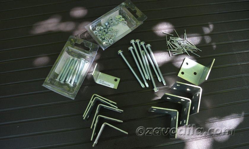 материалы для изготовления стойки под бокалы на вечеринку