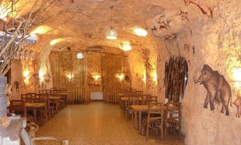 пещерная вечеринка каменный век