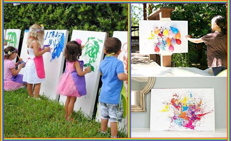 творческие игры, развлечения для детей