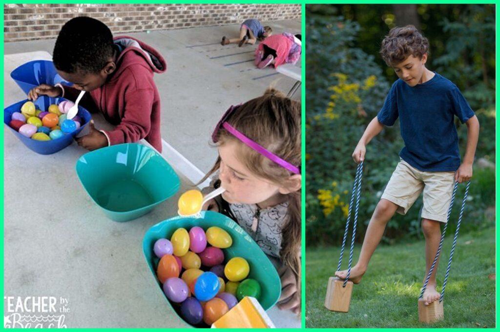 веселые игры для детей на природе и в доме