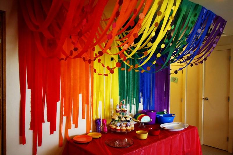 Детская радужная вечеринка: от приглашений до конкурсов