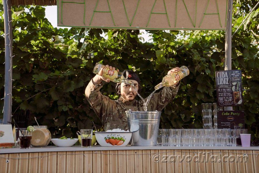 Че Гевара, барная стойка своими руками