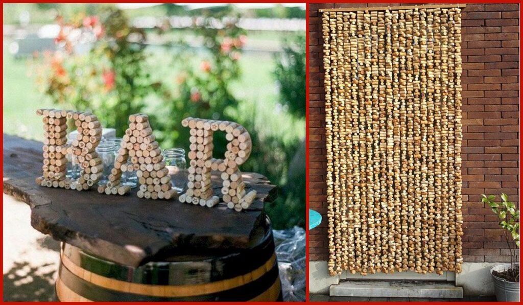 декор и поделки из пробок винных