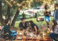 идеи декораций, закуски к вину