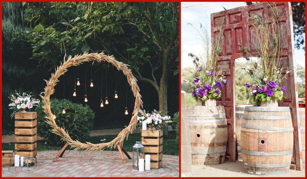 wine party decor